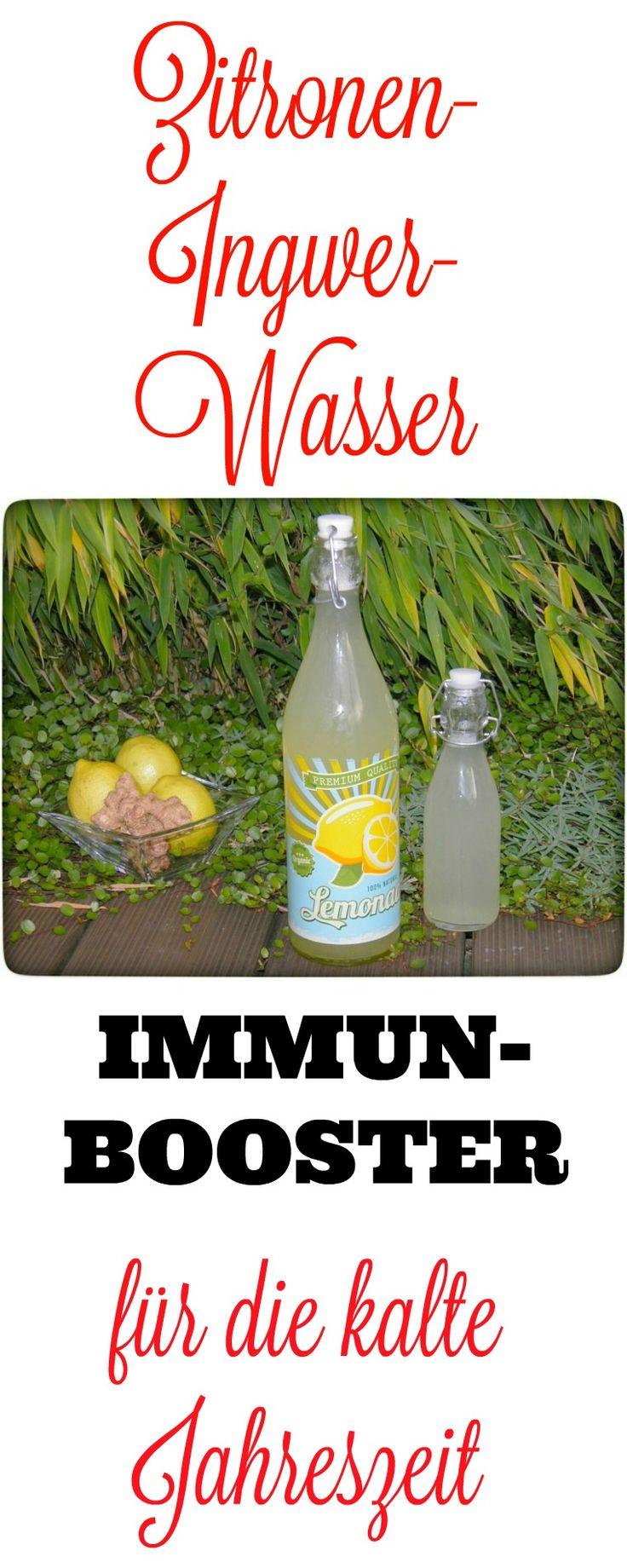 Schleicht sich wieder mal eine Erkältung an? Dann rate ich Euch zur Herstellung dieses Zitronen-Ingwer-Wassers und trinkt am besten, jetzt zur Herbst/Winterzeit, täglich davon. Es ist super bei Halsweh oder auch Erkältung. Es wird Euch hoffentlich schnell wieder auf die Beine bringen oder Euer Immunsystem so ankurbeln, dass ihr zuküntfitg (bei prophylaktischer Einnahme) nicht mal krank werdet.