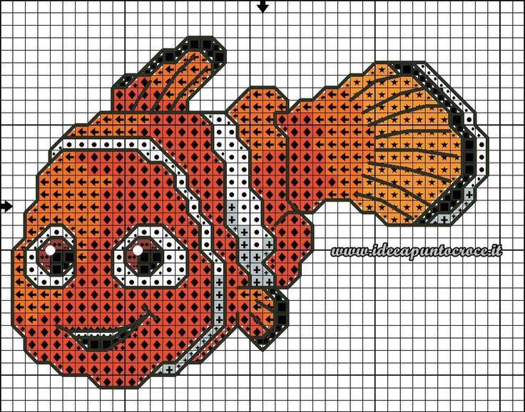 Nemo cross stitch 3-3