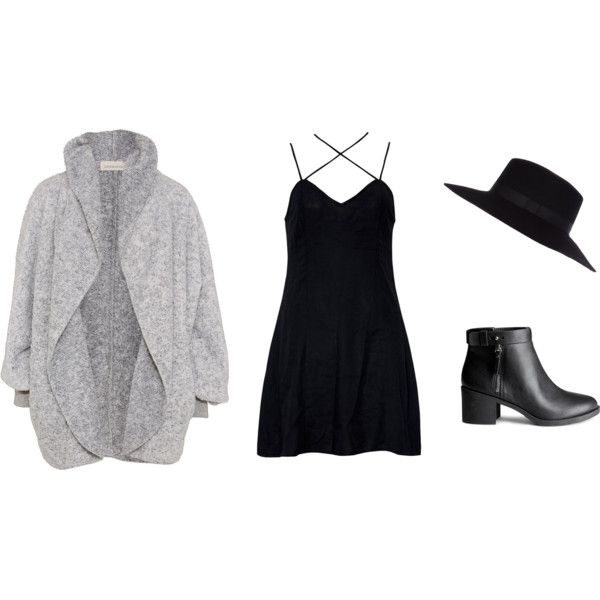 Girly Date by jadeclaire19 on Polyvore featuring Motel, H&M and River Island