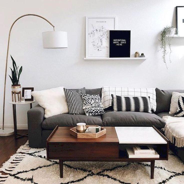 01 Best Modern Apartment For 2019 68 Minimalist Living Room