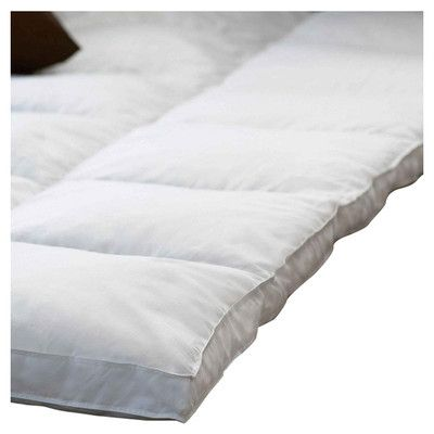 simple luxury grand down alternative mattress topper