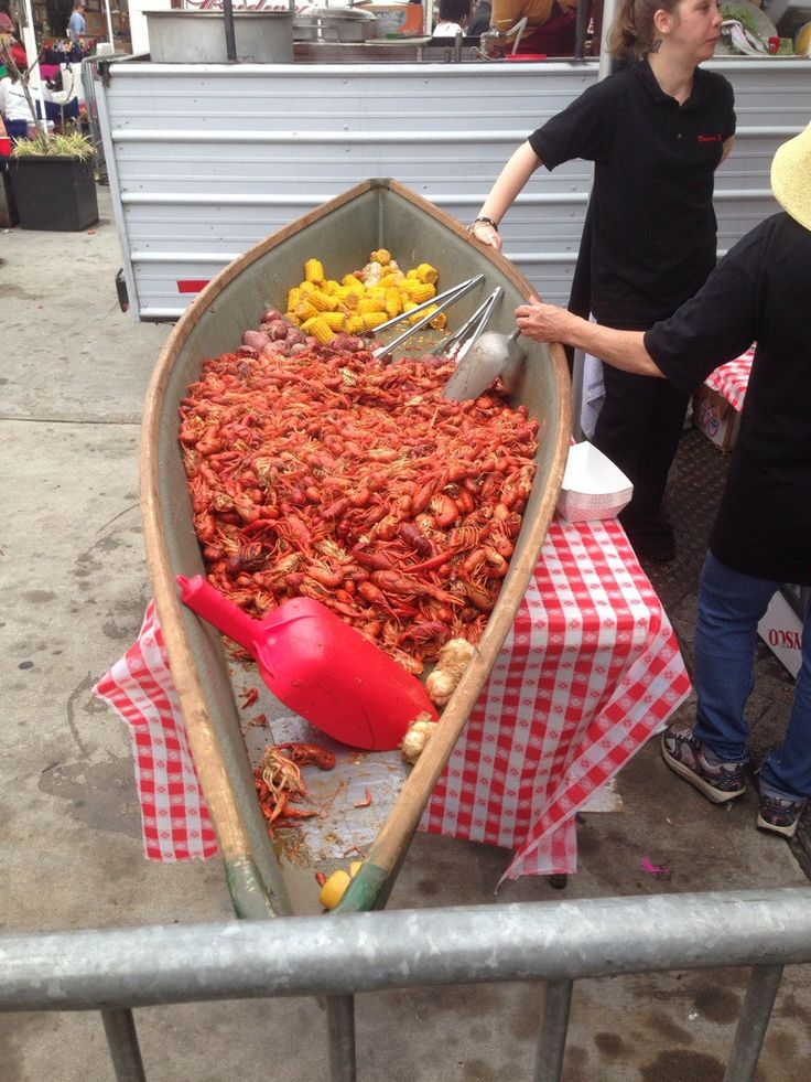 Crawfish in New Orleans