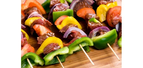 Fun Ideas for kabobs on the grill from healthcastle.com
