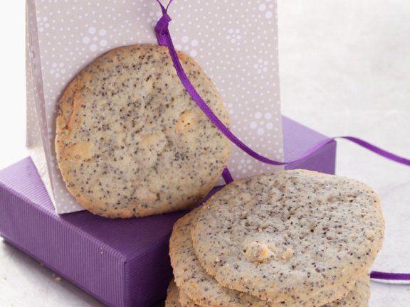 Cookies mit Mohn und weißer Schokolade |