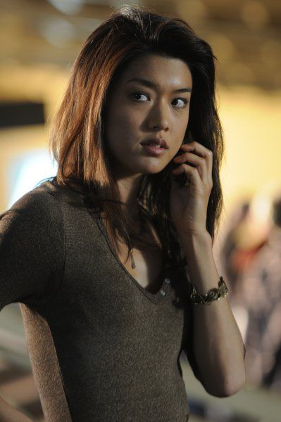 Grace Park from 5-O she's a close second to Zivah...ballin!