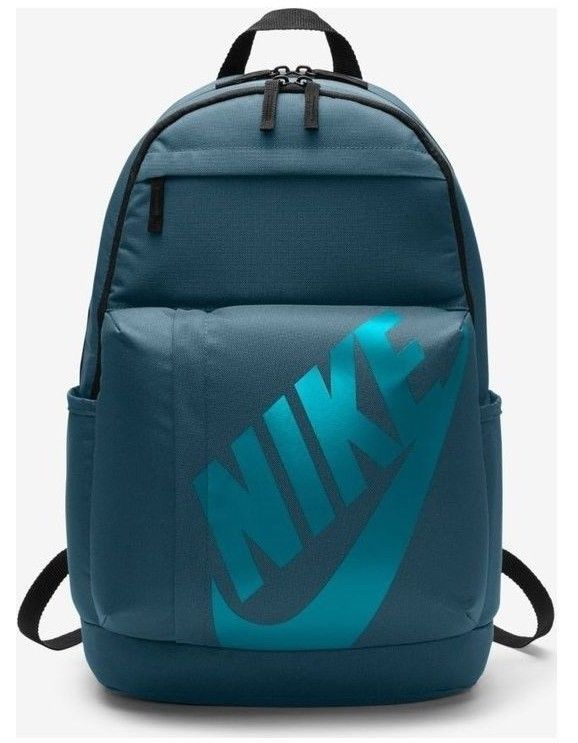 36dfd4b69a09 Nike Elemental Backpack Size 25 Litre Green Blue Training School Bag  Nike   Backpack