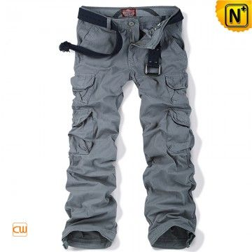 Belted Cargo Work Pants CW100012 www.cwmalls.com