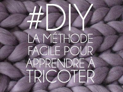 Découvrez en vidéo la méthode facile pour apprendre à tricoter, si simple que vous pourrez apprendre à tricoter avec des enfants ! A vous les snoods et couvertures !