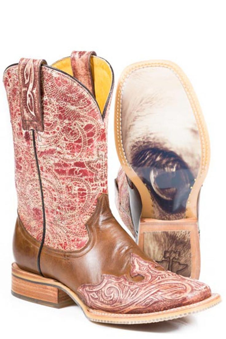 Tin Haul Heart Women's Cowgirl Boots - HeadWest Outfitters