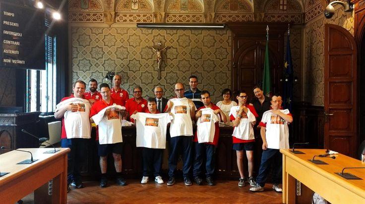 Sono stati festeggiati anche dall'Amministrazione comunale di Rho gli atleti dell'Associazione Sesamo che nei giorni scorsi hanno partecipato ai Giochi Nazionali Special Olympics, ottenendo più riconoscimenti.
