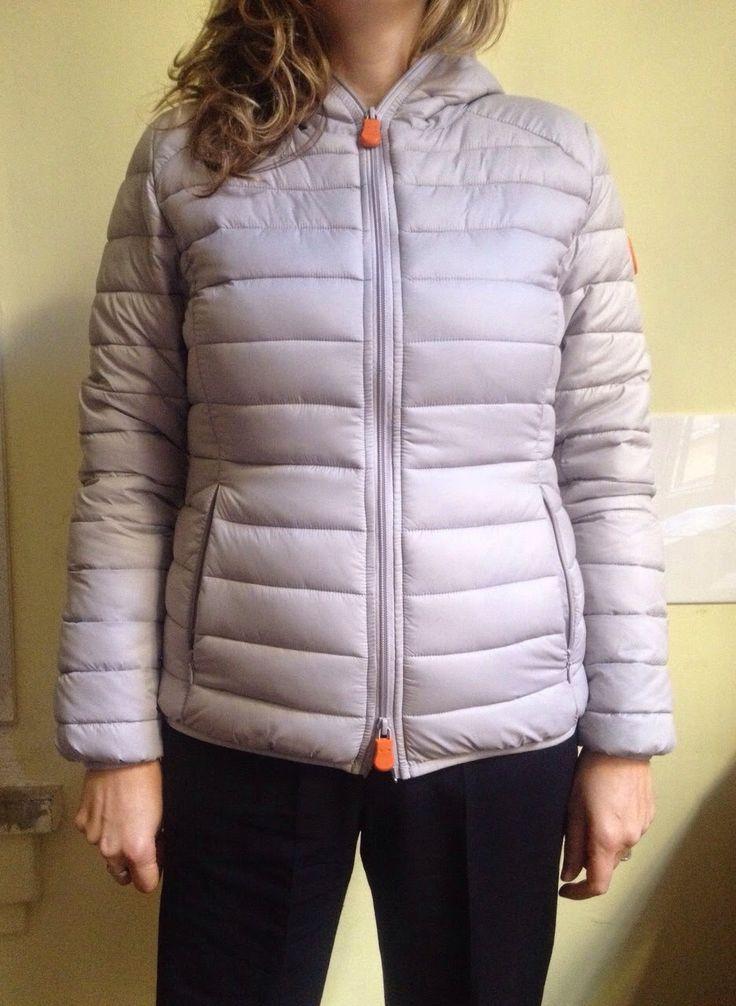 La nostra amica Michela indossa piumino Save The Duck.