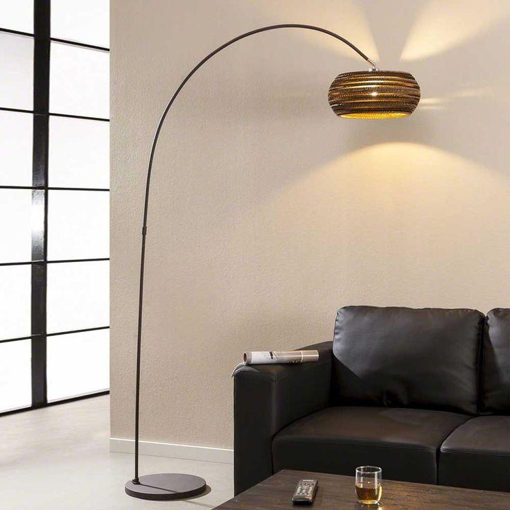 Setzten Sie einen neuen eleganten Akzent in Ihrem Zuhause mit dieser Stehlampe in Braun mit Papierschrim. Diese Stehlampe ist durch ihren Schirm absolut einzigartig. Klicken Sie hier und überzeugen Sie sich seblst:  http://www.pharao24.de/stehlampe-sibylla-in-braun-mit-papierschrim.html#pint