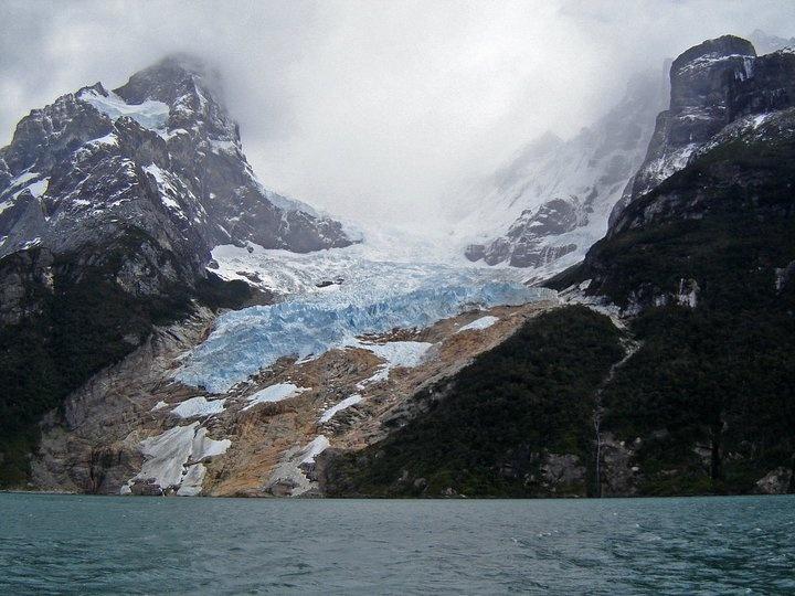 Glaciar Balmaceda , cercano a Puerto Natales, Patagonia Chilena.