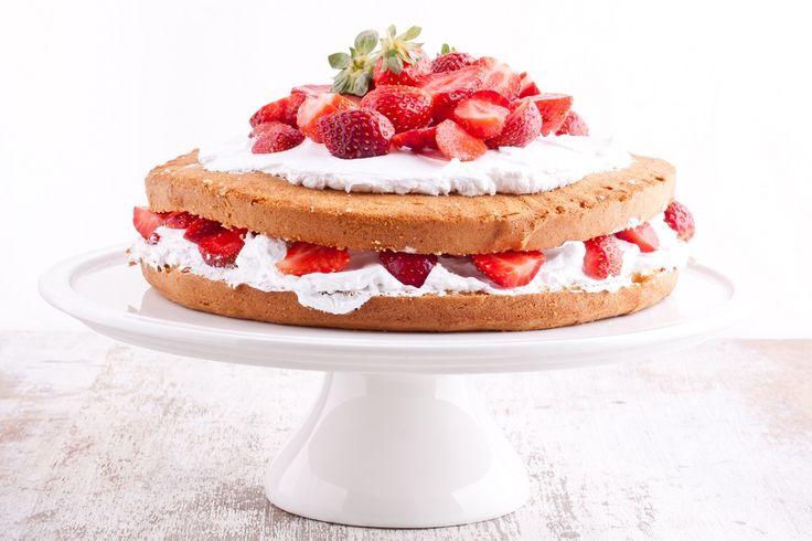 Probeer deze suikervrije Victoria Sponge Cake. Een gezonde variant van de bekende taart. Met dit recept tovert u hem binnen de kortste keren op tafel.