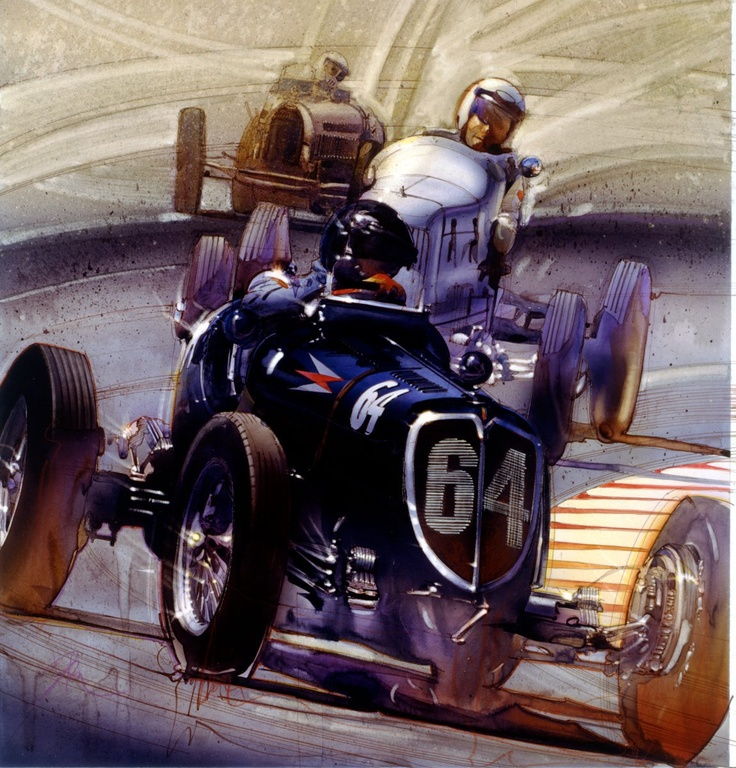 *Automotive Art by Denis Brown