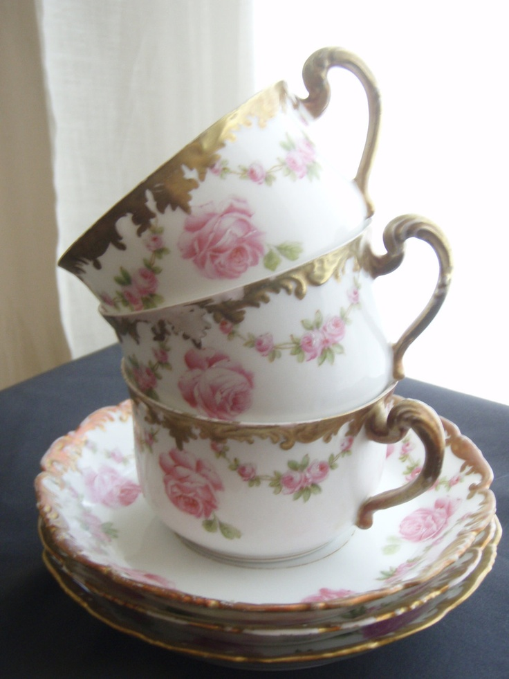 Antique Limoges Tea Set