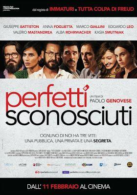 SUDANDO CINE: PERFETTI SCONOSCIUTI (Paolo Genovese, 2016)