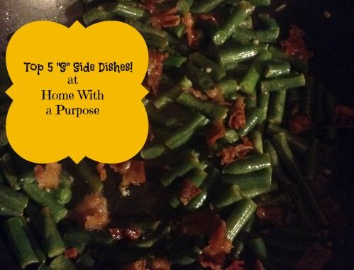 """My top 5 """"S"""" Side Dishes for Trim Healthy Mama!   at Home With a Purpose"""