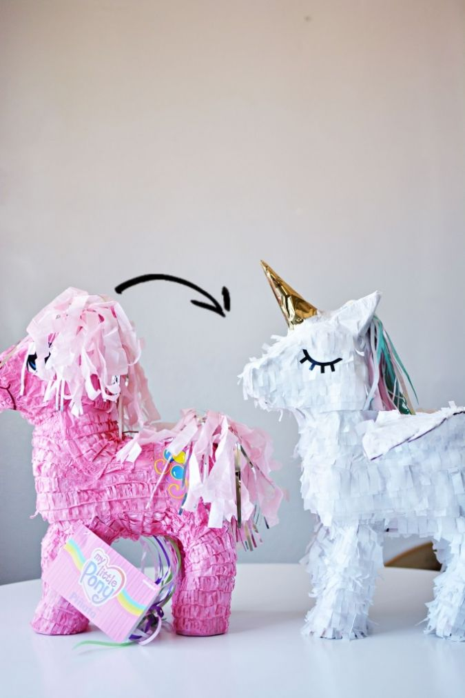 17 Mejores Ideas Sobre Unicorn Pinata En Pinterest Basteln Fiestas