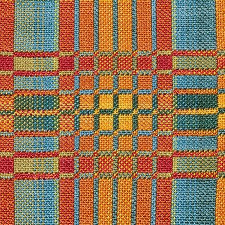 Nancy Middlebrook. Wonderful designs, grids and colour combinations. Double weave.