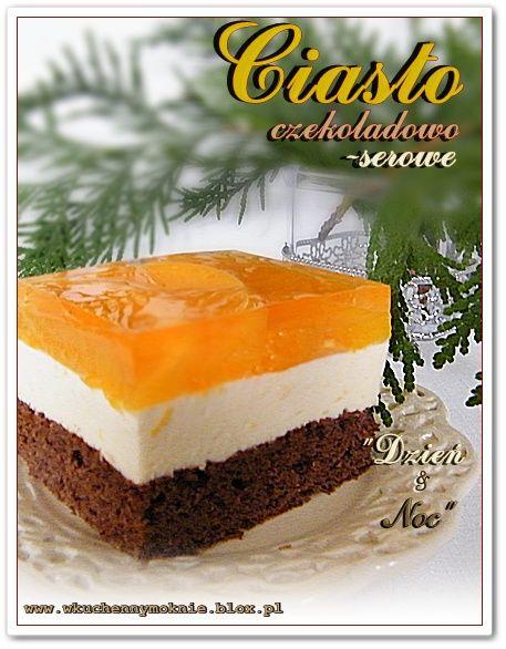 ciasto czekoladowo-serowe