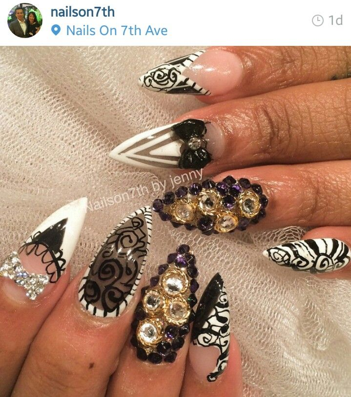 93 best Nail designs images on Pinterest   Nail scissors, Cute nails ...