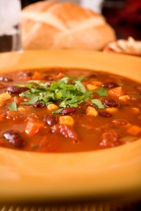 Turkey Chili, Crockpot-Style