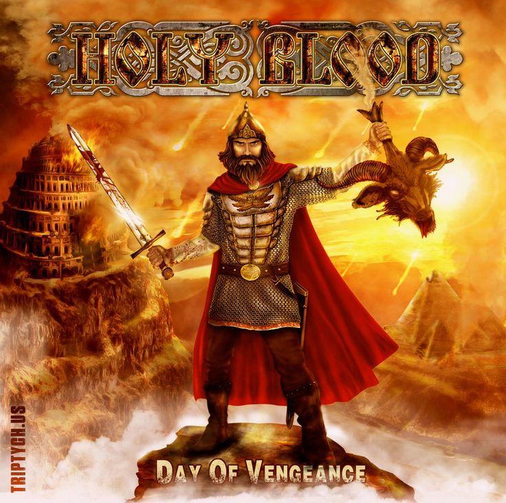 Holy Blood - Day Of Vengeance Album Cover by VitaliyTretyakov on DeviantArt