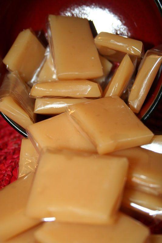 Caramel mou au beurre salé!