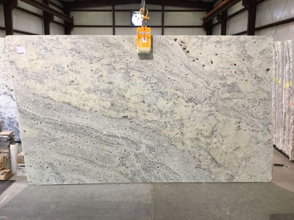 New Bianco Romano Granite Slab Bianco Romano Supreme Is Quarried From A Bedrock Quarry In The State Granite Countertops Granite Slab White Granite Countertops