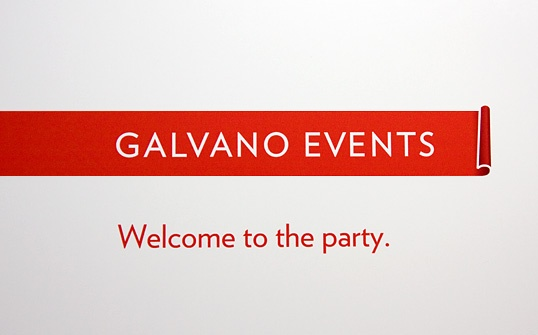 Firmenname für Galvano Events