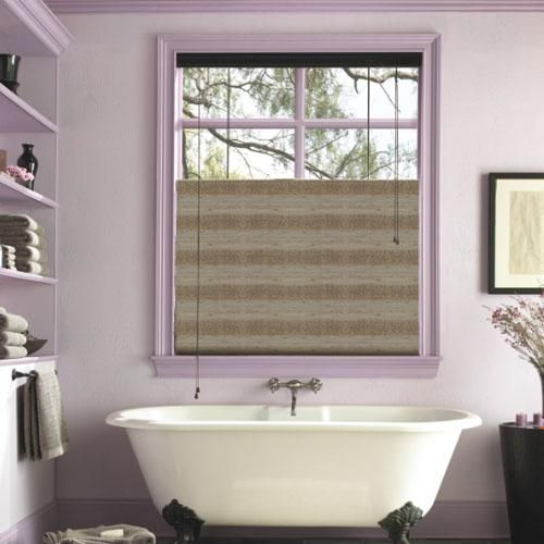 1000 ideas about bathroom window coverings on pinterest window coverings modern window for Bathroom window treatments privacy