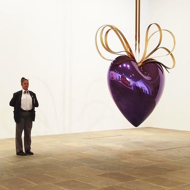 Jeff Koons retrospective @Whitney Photo taken by @piiriil on Instagram, pinned via the InstaPin iOS App! (08/14/2014)