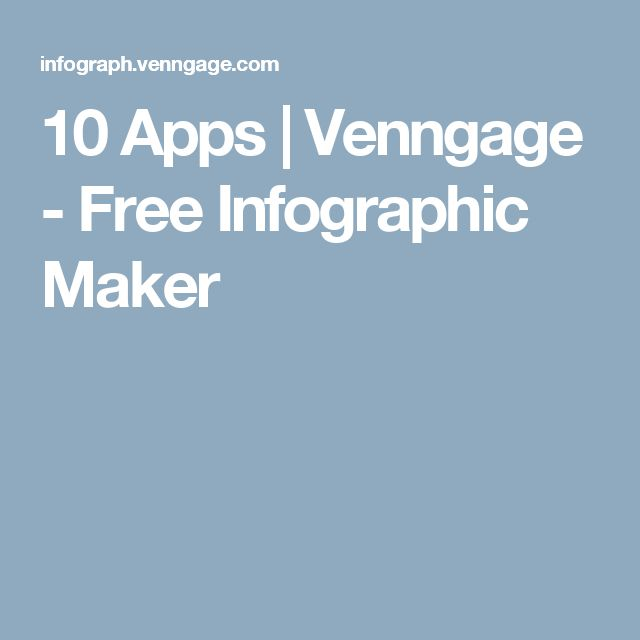 10 Apps | Venngage - Free Infographic Maker