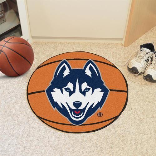UCONN Connecticut Huskies Basketball Floor Rug Mat