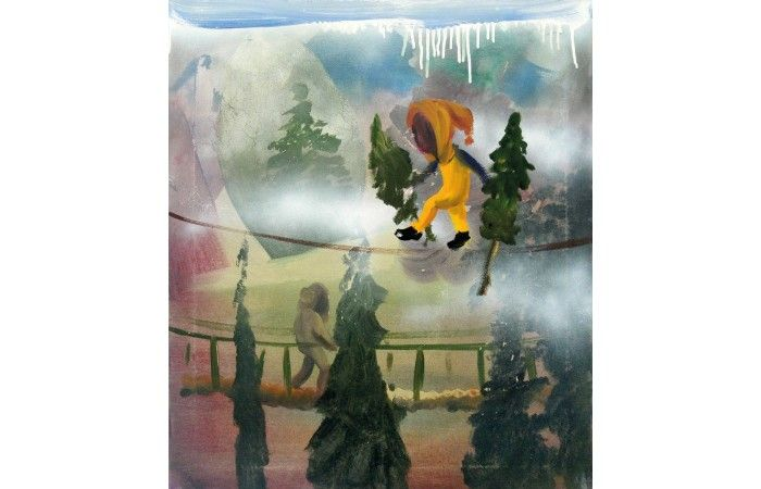 LOT 7 - VALIO TCHENKOV - Hum - Oil on canvas - 70 × 60 cm (27.6 × 23.6 inch) - Estimate €3,000 - €3,300 http://lavacow.com/current-auctions/lavacow-christmas-auction/hum.html#sthash.ty9uVfmy.dpuf