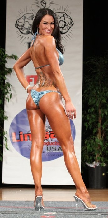 Bikini Competition... such a great back pose for showing ...