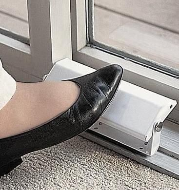 patio door security locks GREAT IDEA!!  Have to have this!