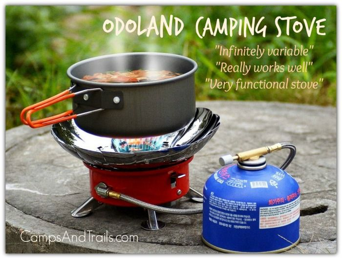 Discover the best lightweight camping stove! The Odoland outdoor single-burner propane stove is compact, lightweight, durable and pleasantly affordable.