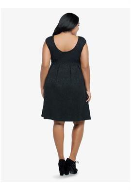 Brocade Sleeveless Dress | Plus Size Special Occasion Dresses | OneStopPlus