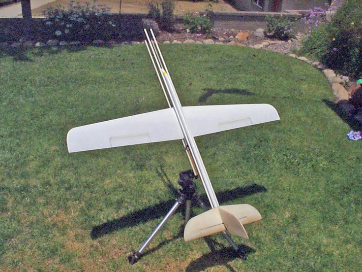 Aerotech Pheonix Radio Control rocket glider with vacuum bagged glassed flying surfaces.