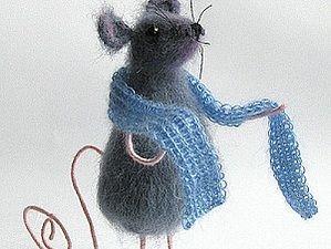 Как связать милую мышку | Ярмарка Мастеров - ручная работа, handmade