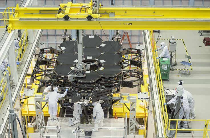 Mirror, mirror on the wall, what's the most powerful telescope of all? NASA's James Webb Space Telescope, and now's your chance to see it under construction.