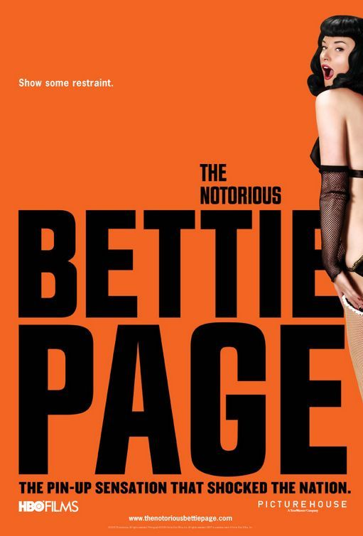 """MP017. """"The Notorious Bettie Page / Alternative American Movie Poster by And Company (Mary Harron 2006) / #Movieposter"""