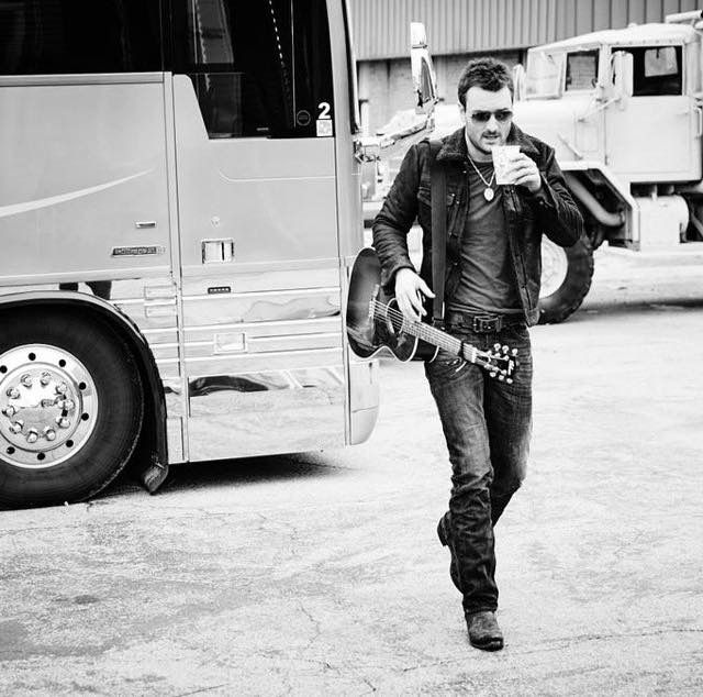 my husband. Eric church.