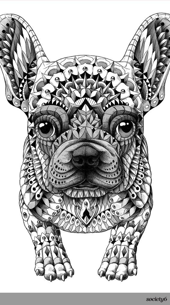 Now On View Bioworkz Society6 Blog French Bulldog Art Bulldog Art French Bulldog Tattoo