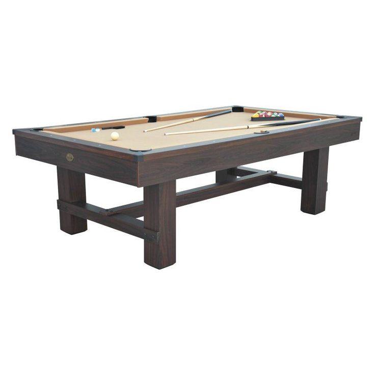 Playcraft Bryce 8 ft. Pool Table - WPTBRYBRO08