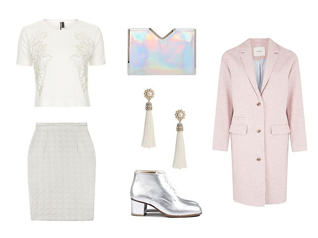 Spring 2015 Trends to Try: How to Wear White All Day via Brit + Co.