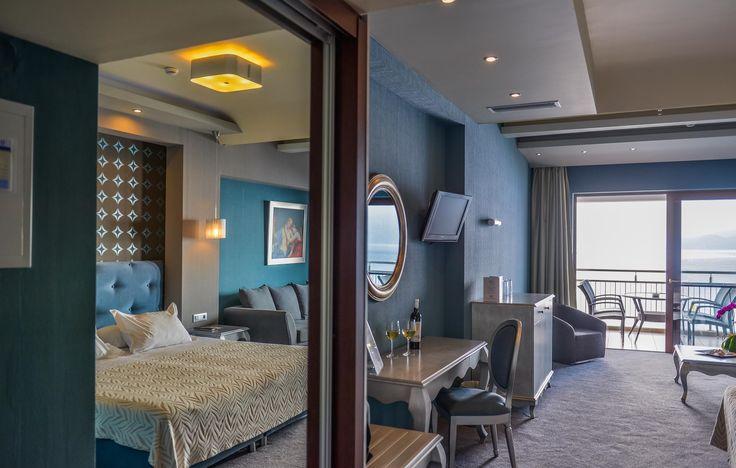 Sea view Junior suite with balcony@odysseyhotel, Kefalonia, Greece