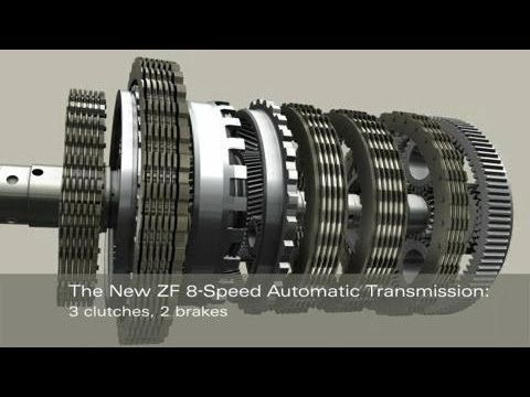 ZF 8-Speed Automatic Transmission - YouTube